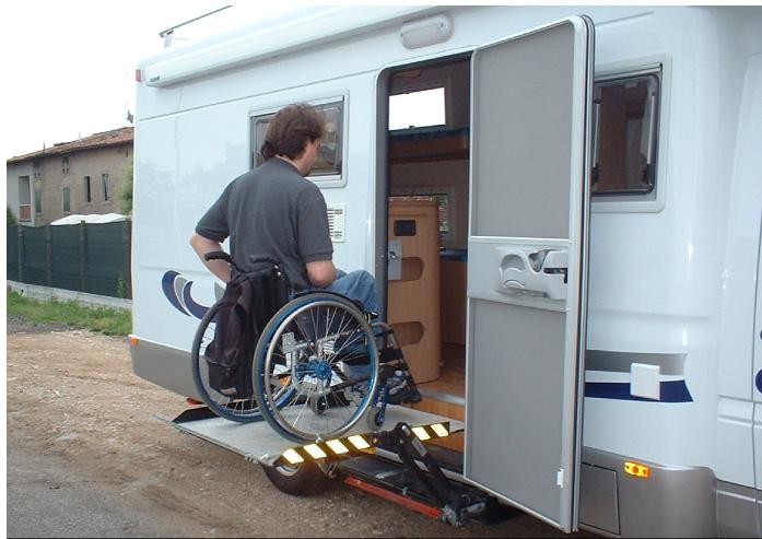 disabilità in camper