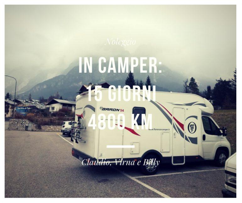 noleggio camper: 4600 km tra italia, francia, belgio, olanda