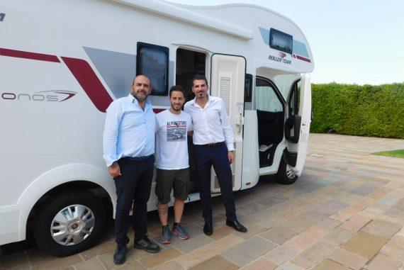 Consegna Camper Roller Team Kronos 290 M a Dovizioso