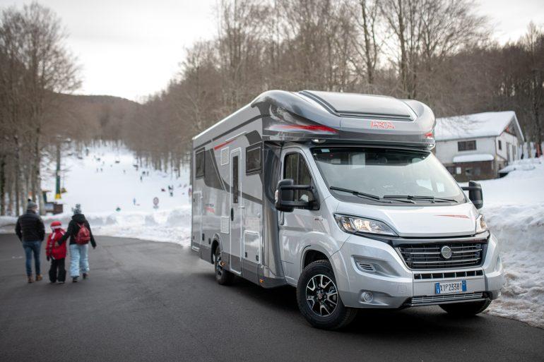 Camper Arca Europa vacanze invernali