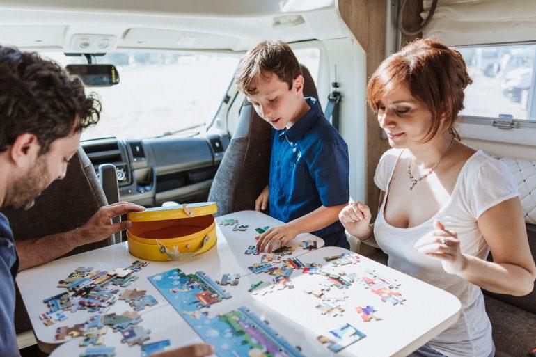 Mobilvetta Kea camper semintegrale famiglia